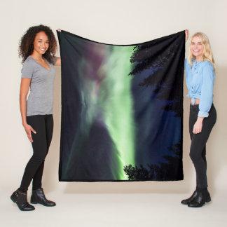 Couverture Polaire Borealis de l'aurore en Laponie finlandaise