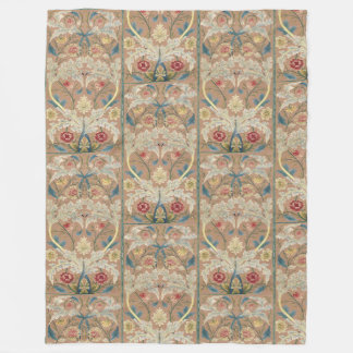 Couverture Polaire Broderie 1875 florale de William Morris de cru