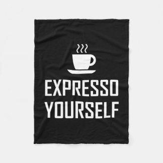 Couverture Polaire Buveur de café de café express de l'express