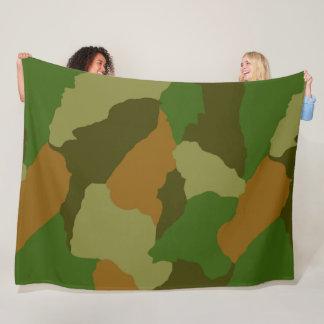 Couverture Polaire Cammo, camoflauge, odee de chasseur, armée,