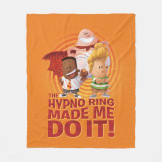 Couverture Polaire Capitaine Underpants   l'anneau de Hypno m'a