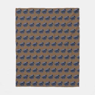 """Couverture Polaire Conception """"bleu """" de kubo de Bahay"""