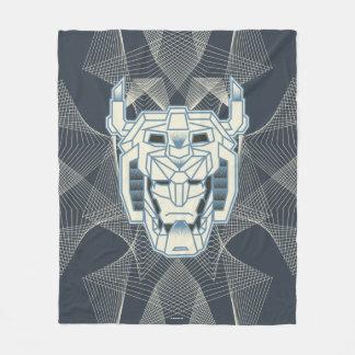 Couverture Polaire Contour bleu de Voltron | Voltron et blanc