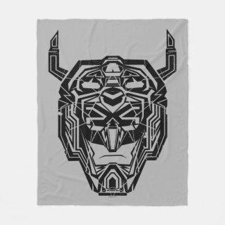 Couverture Polaire Contour rompu par tête de Voltron | Voltron