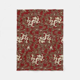 Couverture Polaire Copie traditionnelle vintage de papier japonais
