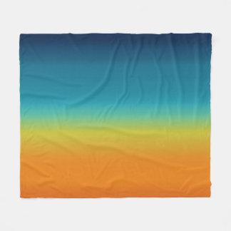 Couverture Polaire Coucher du soleil de sud-ouest