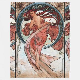 Couverture Polaire Danse d'Alfons Mucha 1898