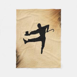 Couverture Polaire Danseur de claquettes