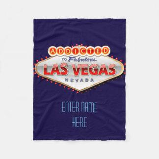Couverture Polaire Dépendant signe drôle à Las Vegas, Nevada