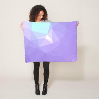 Couverture Polaire Dessin géométrique abstrait de LoveGeo - iris de