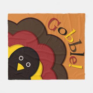 Couverture Polaire Dinde de dissimulation de thanksgiving