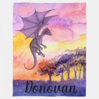 Couverture Polaire Dragon