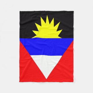 Couverture Polaire Drapeau d'Antigua-et-Barbuda