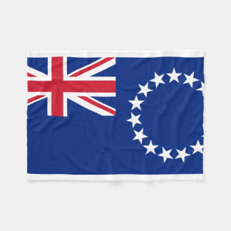 Couverture Polaire Drapeau national du monde de Cook_Islands