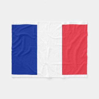Couverture Polaire Drapeau national du monde de la France