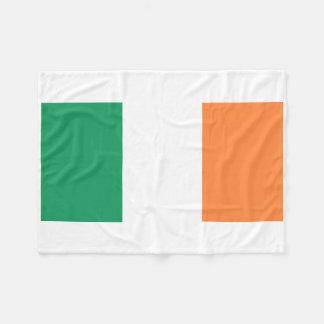 Couverture Polaire Drapeau national du monde de l'Irlande