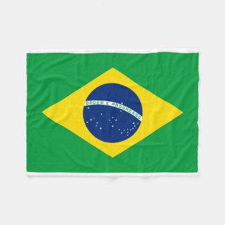 Couverture Polaire Drapeau national du monde du Brésil