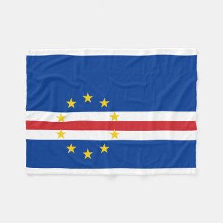Couverture Polaire Drapeau national du monde du Cap Vert