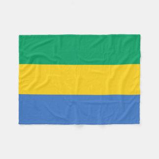 Couverture Polaire Drapeau national du monde du Gabon