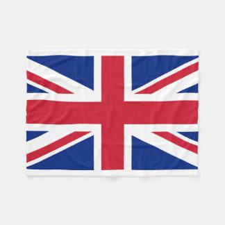 Couverture Polaire Drapeau national du monde du Royaume-Uni