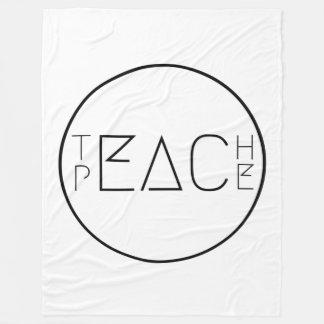 Couverture Polaire Enseignez la paix