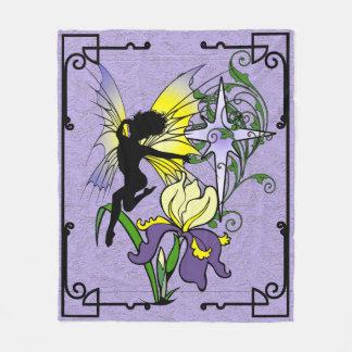 Couverture Polaire Fée d'ombre d'iris