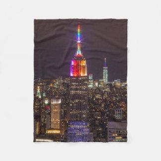 Couverture Polaire Fierté d'Empire State Building