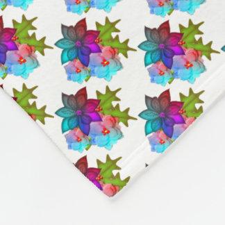 Couverture Polaire Floral succulent de joli Noël
