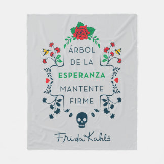 Couverture Polaire Frida Kahlo | Árbol De La Esperanza