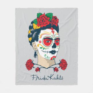 Couverture Polaire Frida Kahlo | El Día de los Muertos
