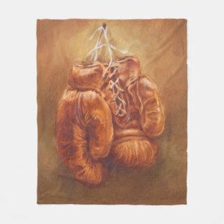 Couverture Polaire Gant de boxe rustique des sports |