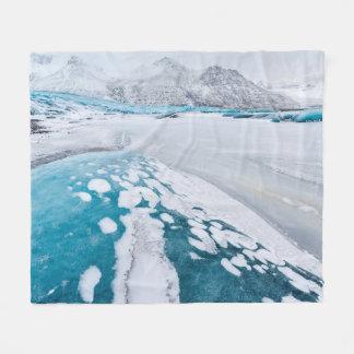 Couverture Polaire Glace congelée de glacier, Islande
