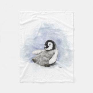 Couverture Polaire Glissement de pingouin de bébé