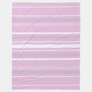Couverture Polaire Harmonie élégante moderne de couleur de rose de