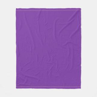 Couverture Polaire Harmonie violette pourpre élégante moderne de