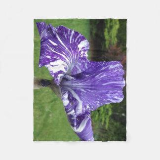 Couverture Polaire Iris de Batique