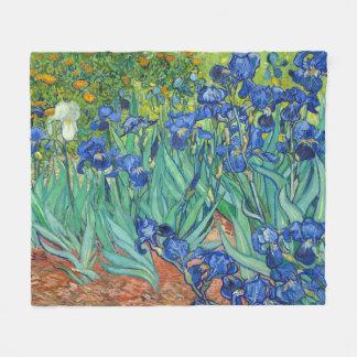 Couverture Polaire Iris par Van Gogh