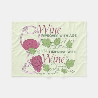 Couverture Polaire Je m'améliore avec la conception de vin