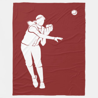 Couverture Polaire Jet du base-ball