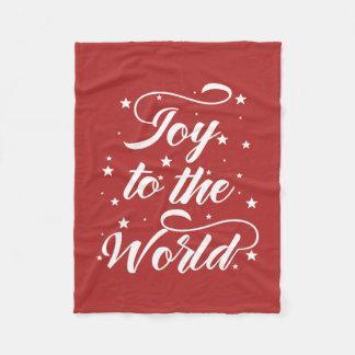Couverture Polaire joie à Noël du monde