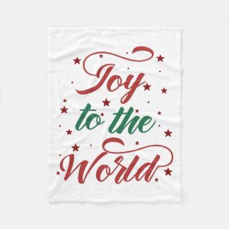 Couverture Polaire joie au monde