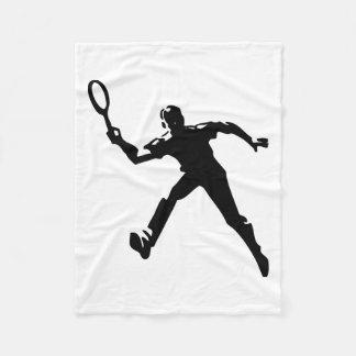 Couverture Polaire Joueur de tennis