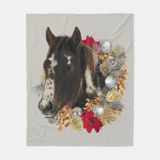 Couverture Polaire Joyeux Noël de Brayley