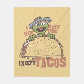 Couverture Polaire La haine d'OscarI tout exceptent des tacos