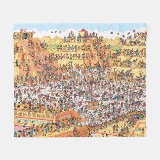 Couverture Polaire Là où est Waldo | de derniers jours des Aztèques