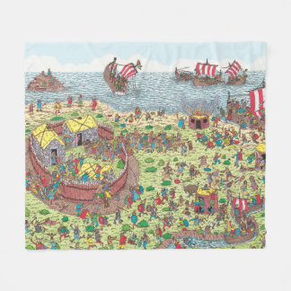 Couverture Polaire Là où est Waldo | en tournée avec les Vikings
