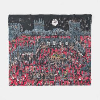 Couverture Polaire Là où est Waldo | Nasties méchant