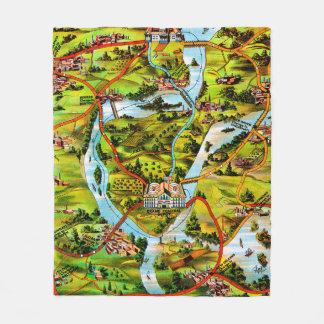 Couverture Polaire La route à la carte de cru de Washington