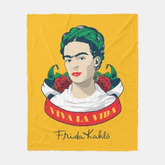 Couverture Polaire La Vida de vivats de Frida Kahlo |