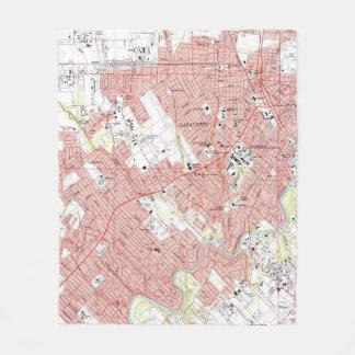 Couverture Polaire Lafayette Louisiane Map (1983)